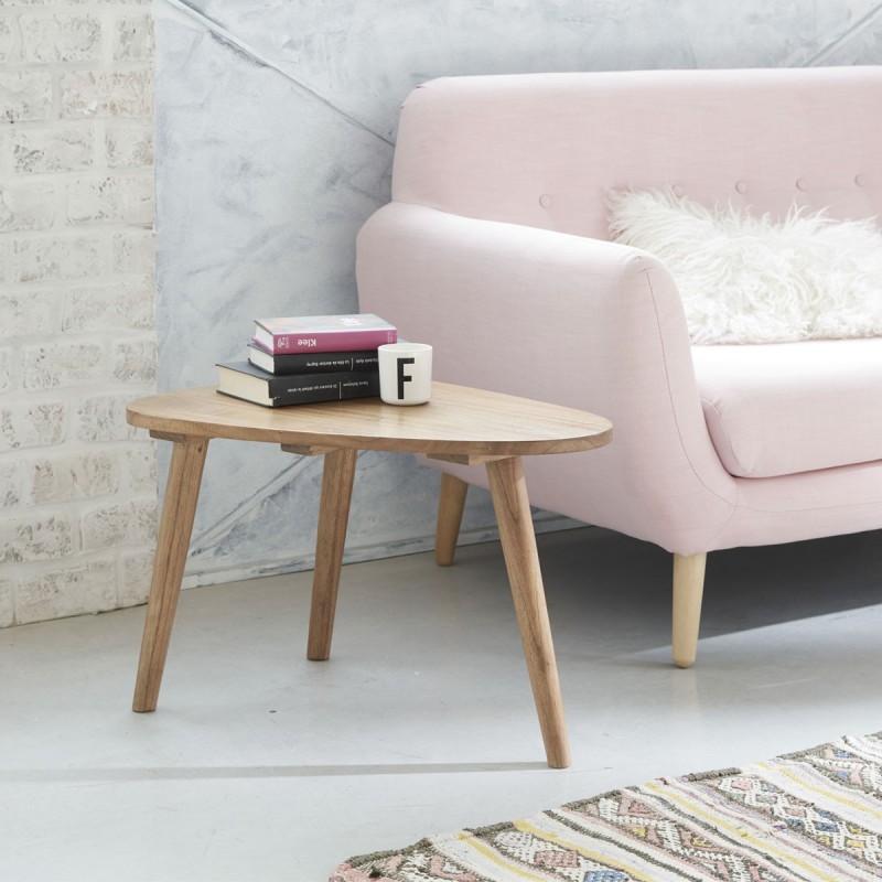 table basse en bois de mindy OSLO 62 cm