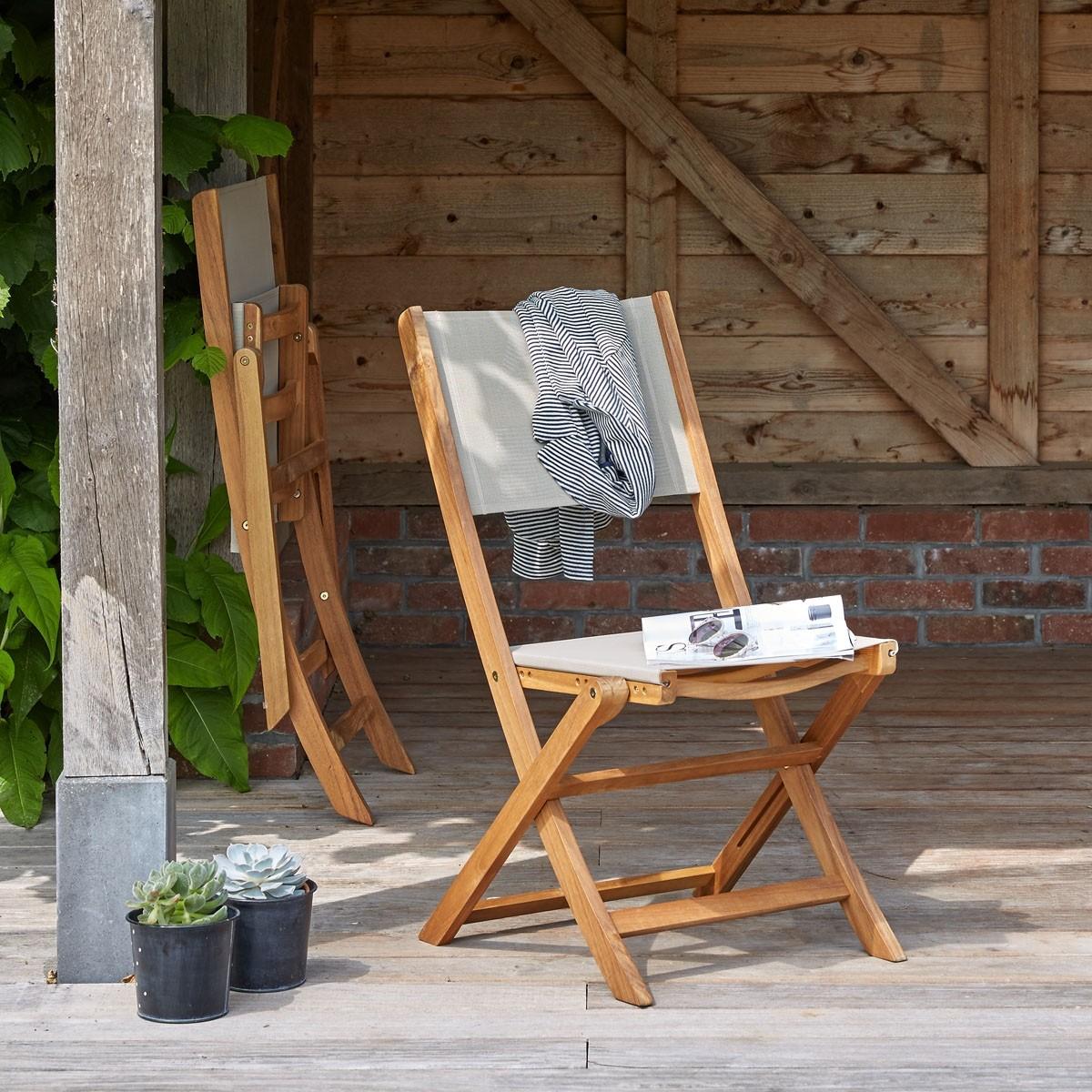 Salon de jardin en bois d\'acacia FSC 4 places | Bois Dessus Bois ...