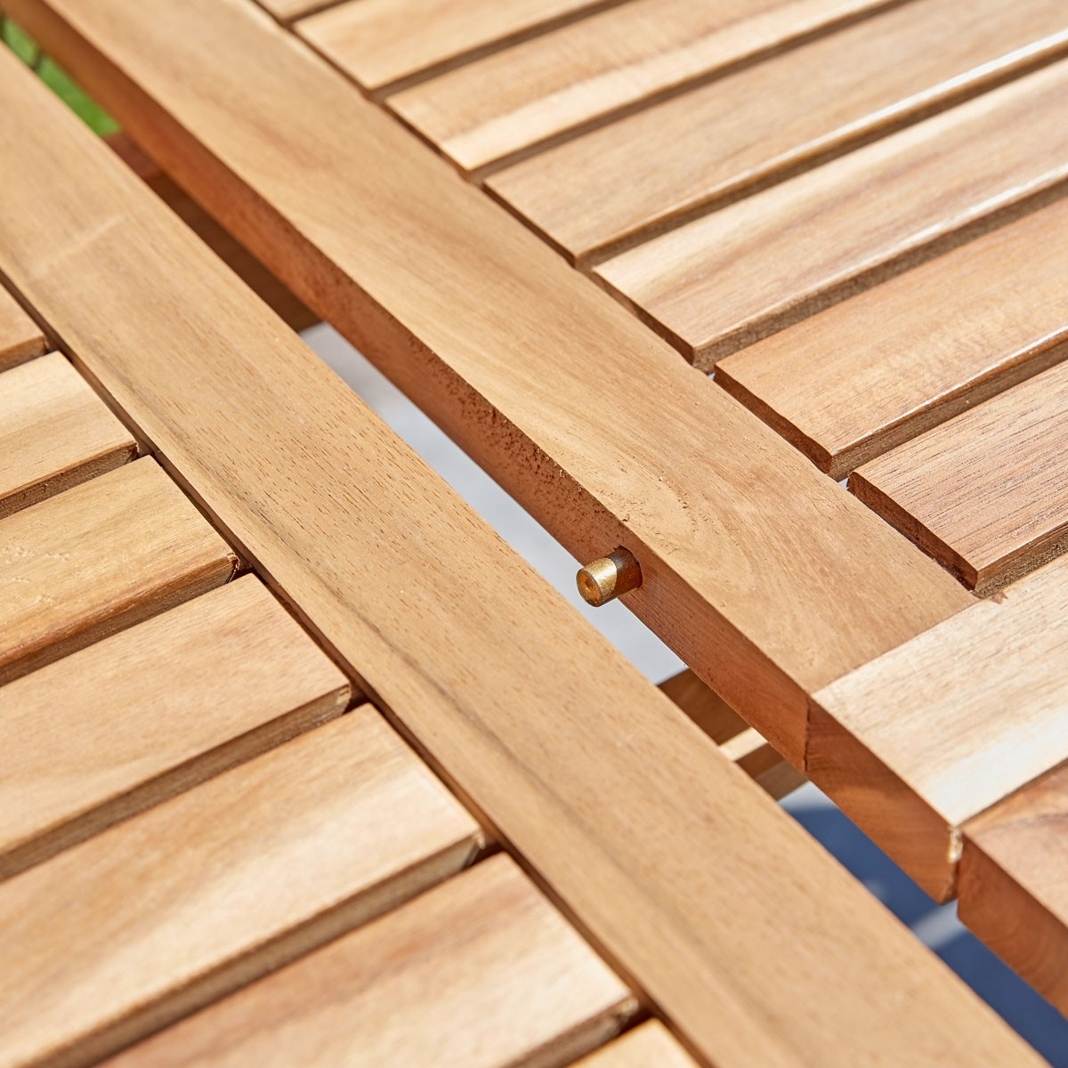 Salon de jardin en bois d\'acacia FSC extensible 6/8 places - Bois ...