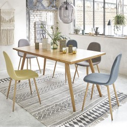 Table en bois mindy 165 OSLO