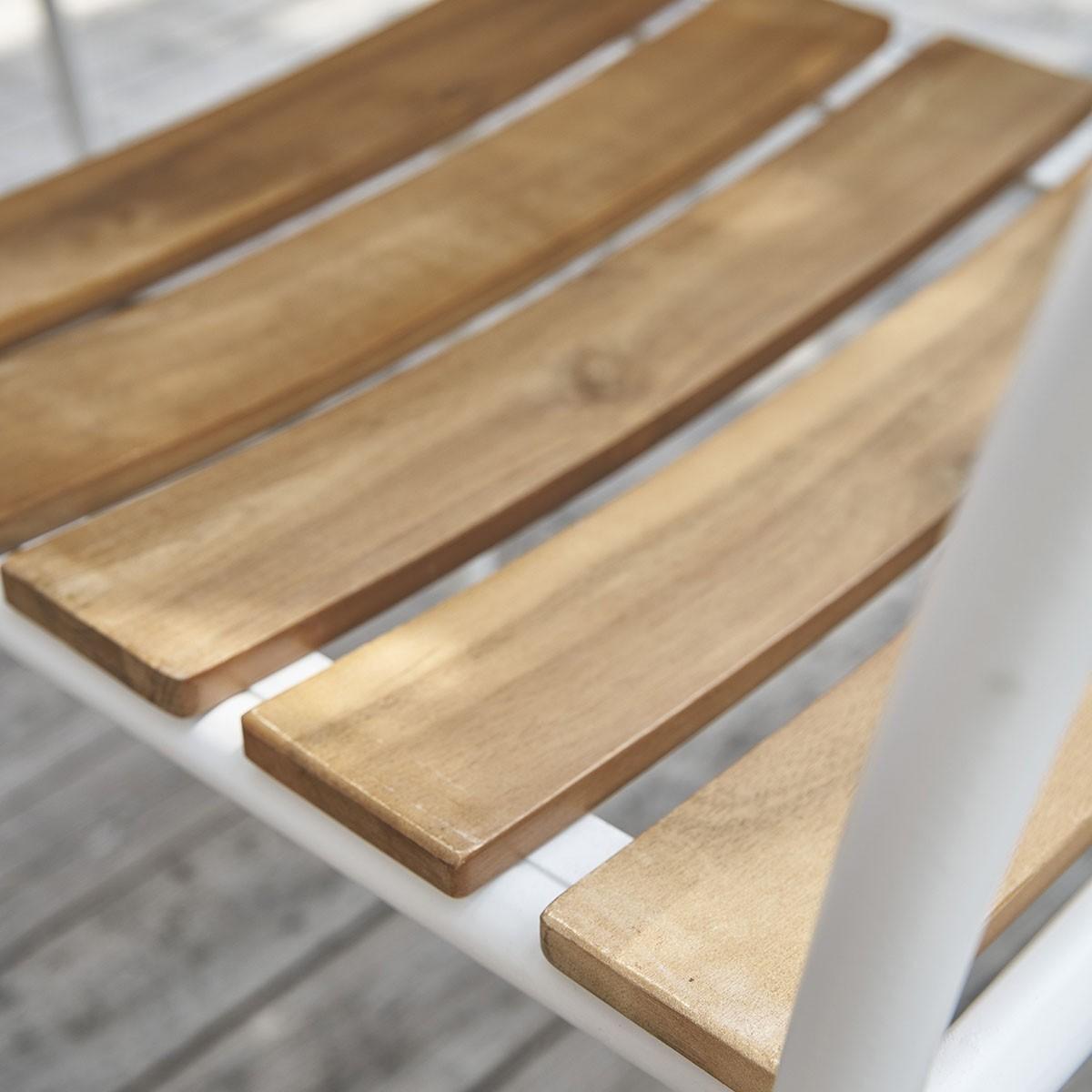Couleur bois acacia for Salon de jardin en metal de couleur
