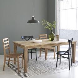 Table en bois de teck recyclé CARGO 200/290 cm