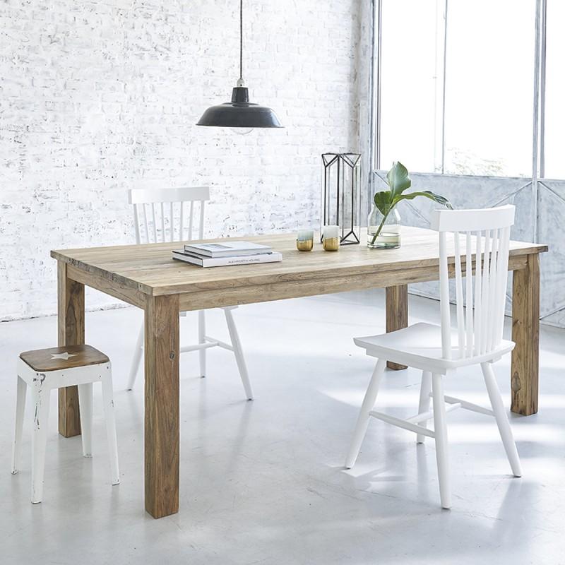 Table en bois de teck recyclé CARGO 200 cm