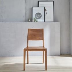 Chaises modernes en bois de teck