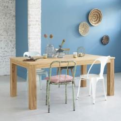 Table rectangulaire en bois de teck BOSTON 180 cm