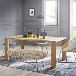 Table en bois de mindy 180 TILO