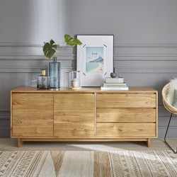 Commode en bois de mindy 180 TILO