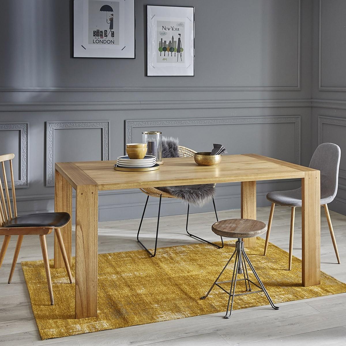 table en bois de mindy 8 personnes tilo bois dessus bois dessous. Black Bedroom Furniture Sets. Home Design Ideas