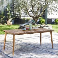Table de jardin en bois : teck, acacia - Bois Dessus Bois Dessous