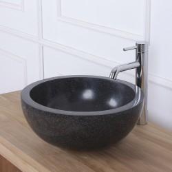 Vasque bol noir