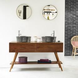 Meuble de salle de bain en bois de mindy 135
