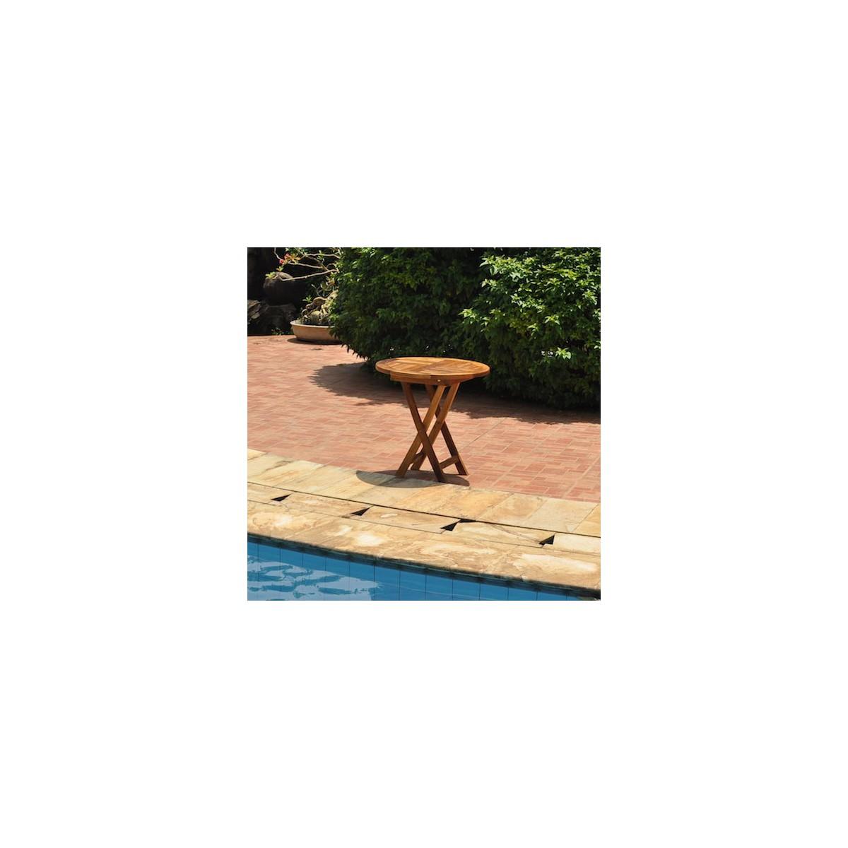 Emejing huile pour salon de jardin acacia pictures - Table de salon en teck ...