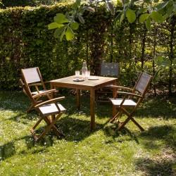 Salon de jardin en bois : acacia, teck, rotin - Bois Dessus Bois Dessous