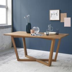 Table de cuisine bois de teck 160