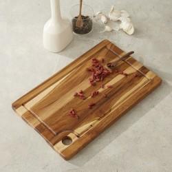 Planche à découper en bois de teck