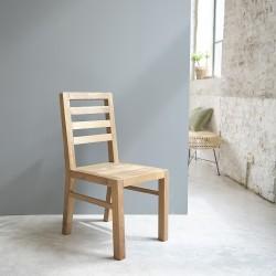 Chaise en bois de teck recyclé CARGO